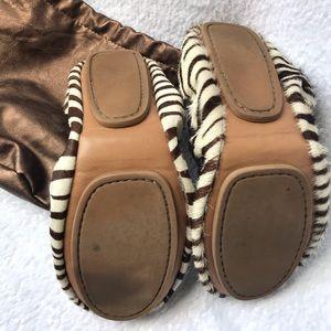 GAP Shoes - GAP Foldable Calf Hair Zebra Flats